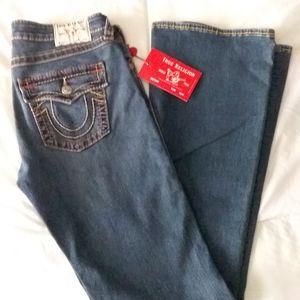 True Religion Joey Flare Jean's